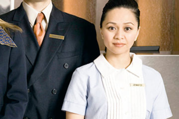 Staff for the hotel